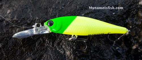 Lucky Craft B'freeze 48s Long Bill best lure for light rock fishing