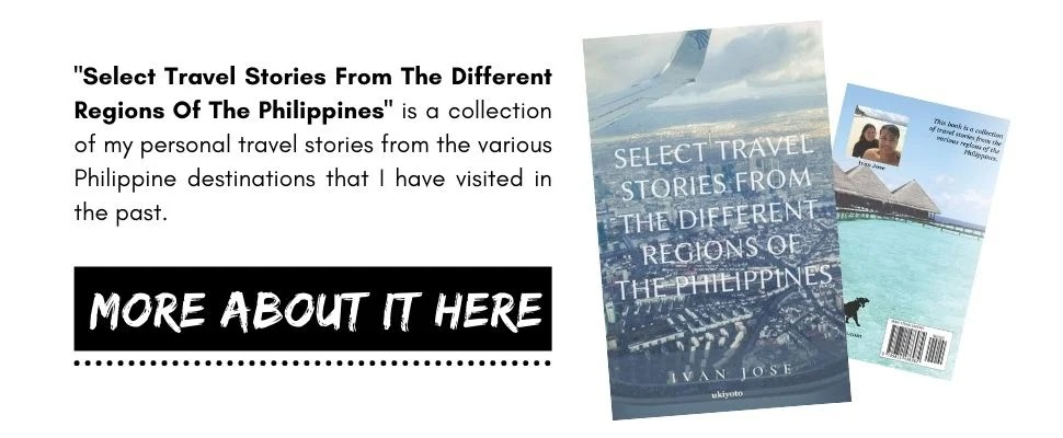 Buy my Book Select Travel Stories from the Different Regions of the Philippines