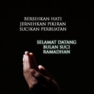 Ucapan Menyambut Bulan Puasa Ramadhan
