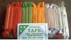 Foto Permen Gula Tape Singkong Asli Oleh-oleh Khas Yogyakarta