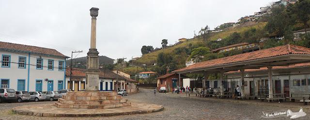 Praça do Barão do Rio Branco, Ouro Preto.
