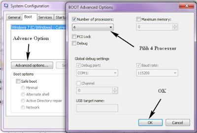Cara Mempercepat Logon Screen OS Windows