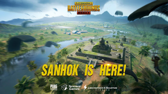 PUBG Mobile Sanhok Map