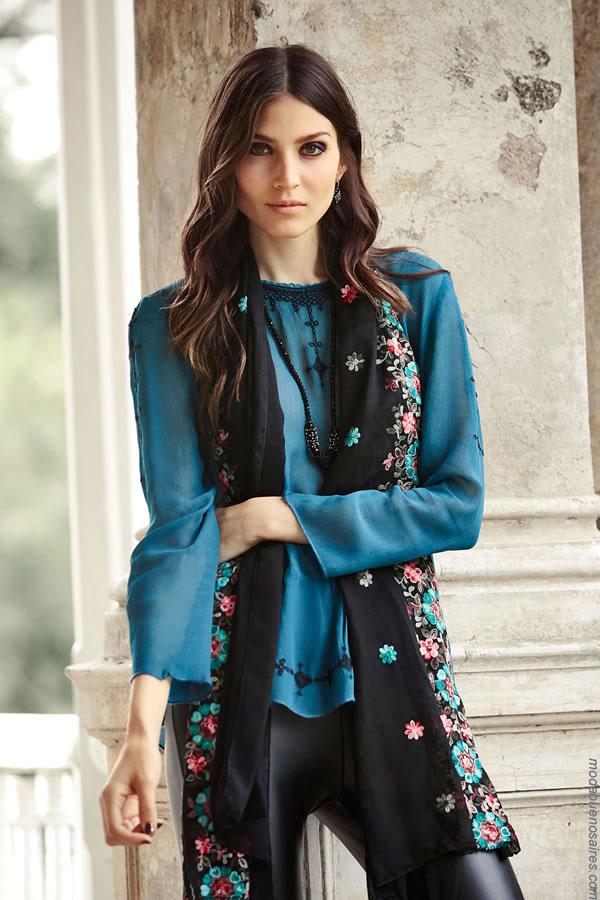 Blusas de moda mujer invierno 2017 ropa de mujer 2017.