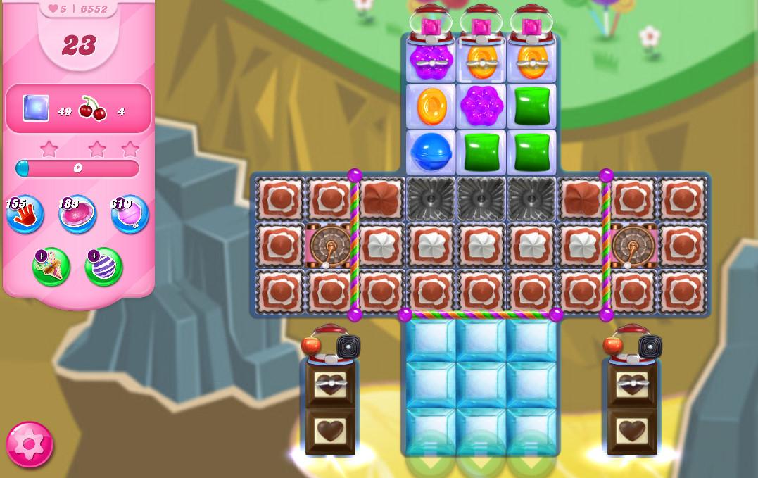 Candy Crush Saga level 6552