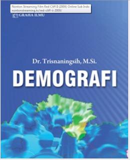 Jual Demografi - DISTRIBUTOR BUKU YOGYA | Tokopedia