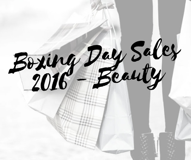 Beauty Boxing Day Sales