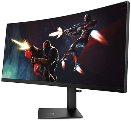 HP OMEN X 35: panel curvo UltraWide de 35'' con resolución Quad HD