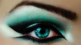 Eye Makeup Contact Lens