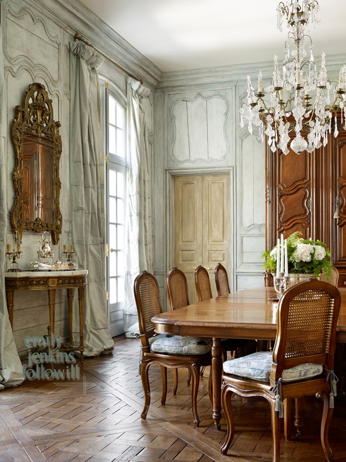 french dining room furniture | Whitehaven: Seven Beautiful Houses: Cathedral Antiques ...