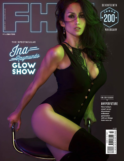 Ina Raymundo FHM March 2017 Cover Girl