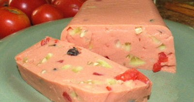 5 Acres & A Dream: Creamy Ricotta Tomato Aspic