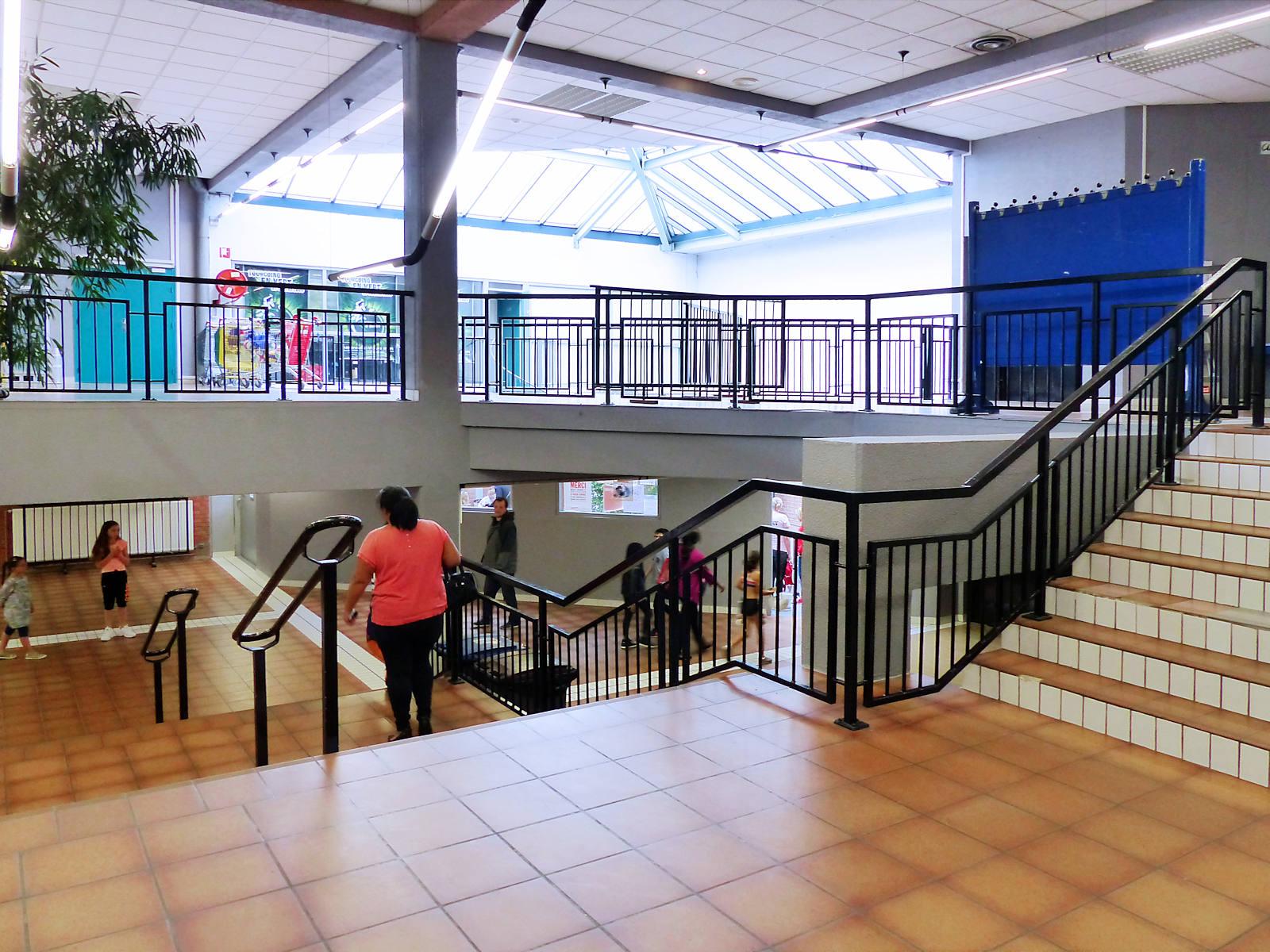Escaliers intérieurs de Léo Lagrange Arena Tourcoing