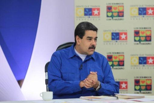 Maduro anuncia reanudación del diálogo con oposición próximamente