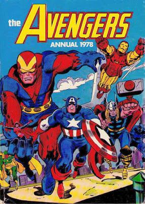 Marvel UK, Avengers Annual 1978