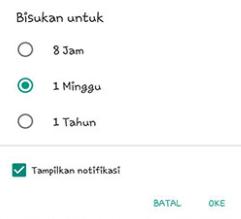 Cara Menonaktifkan Chat Grup WhatsApp Sementara