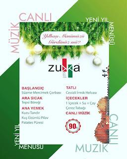 zukka van yilbasi menu canli muzik yilbasi yemegi