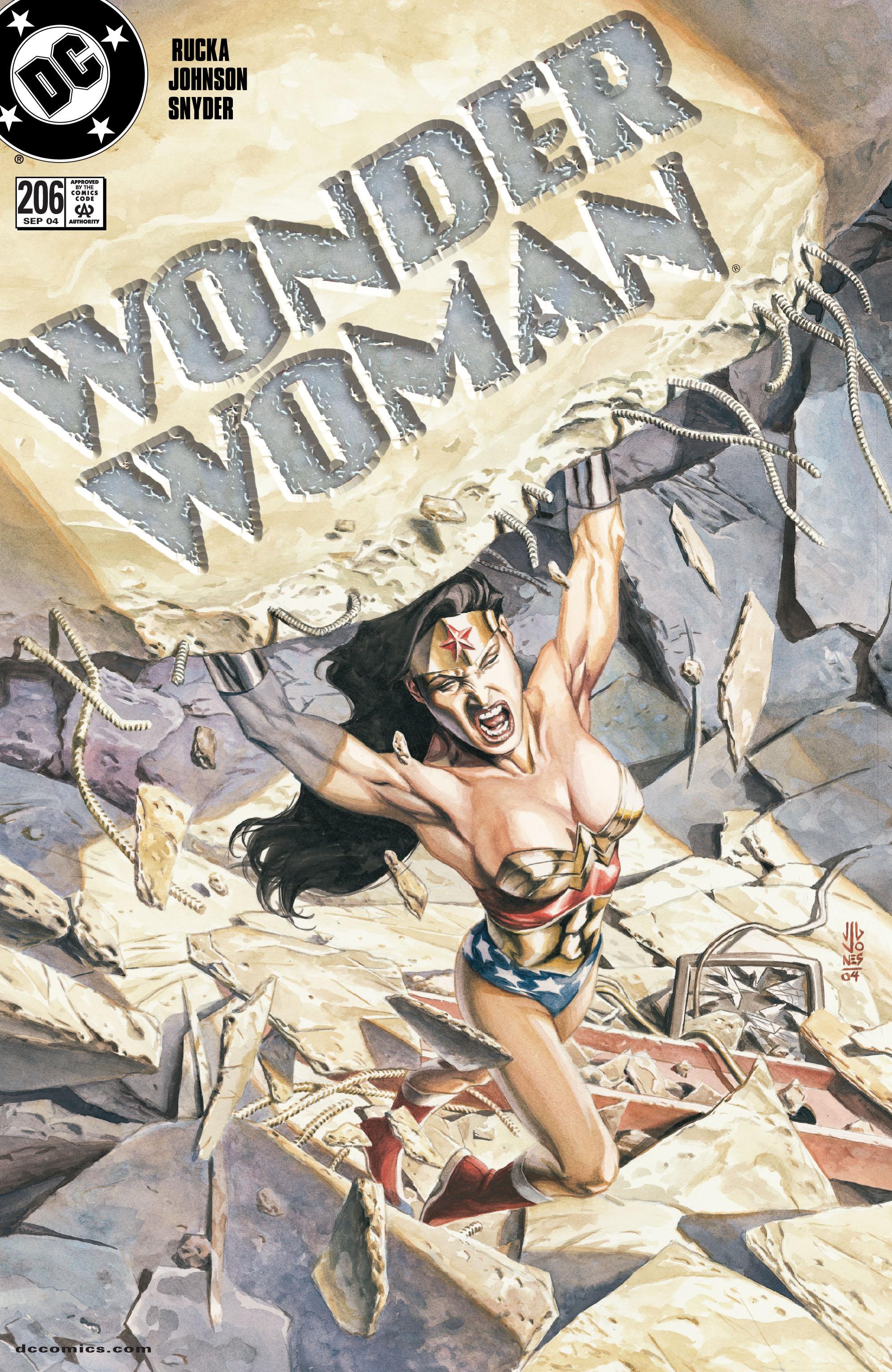 Read online Wonder Woman (1987) comic -  Issue #206 - 1