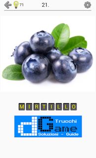 Soluzioni Frutti, verdure e noce livello 21
