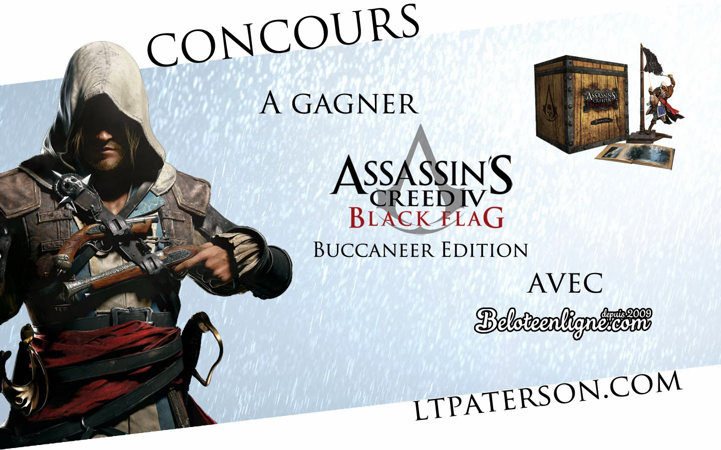concours une dition buccaneer assassin 39 s creed 4 gagner blog jeux video pc. Black Bedroom Furniture Sets. Home Design Ideas