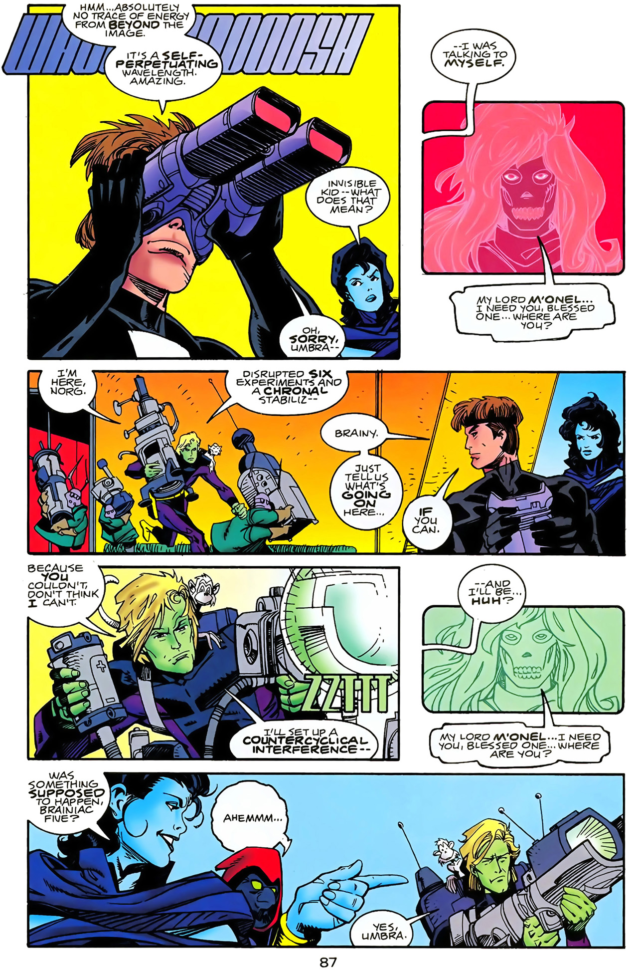 Legion of Super-Heroes (1989) 100 Page 79