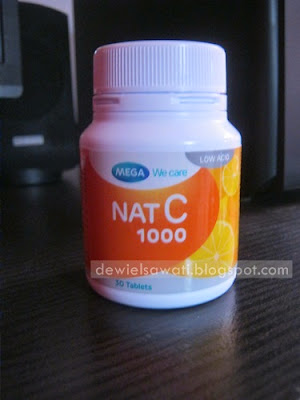 Review Nat C 1000 Suplemen Daya Tahan Tubuh Mega We Care