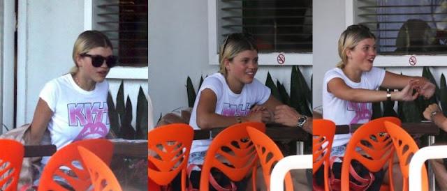 Sofia Richie Kiss