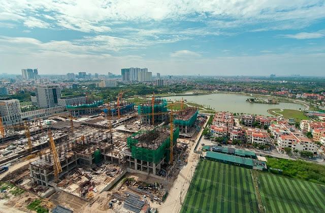 Hình ảnh tổng thể toàn khu dự án An Bình City