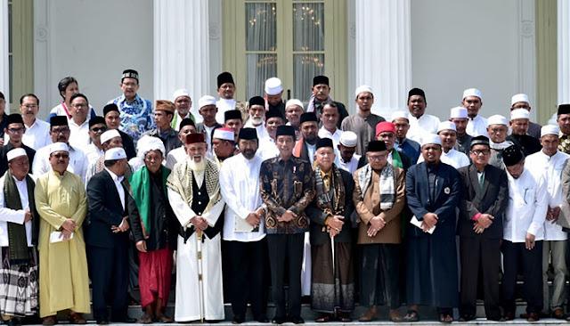 Ulama Aceh Ke Istana, Berharap Jokowi Kembali Memimpin Indonesia