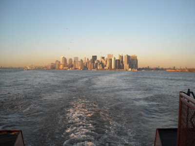 Ferry view of Manhattan