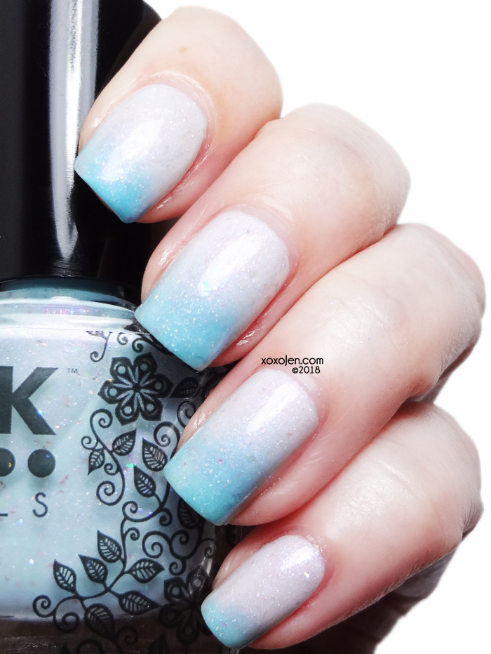 xoxoJen's swatch of DRK Nails' I Love Lucy