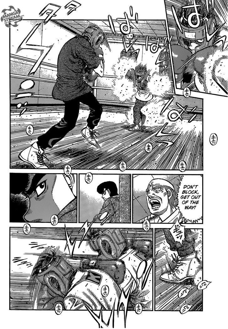 Hajime no Ippo - Chapter 1144