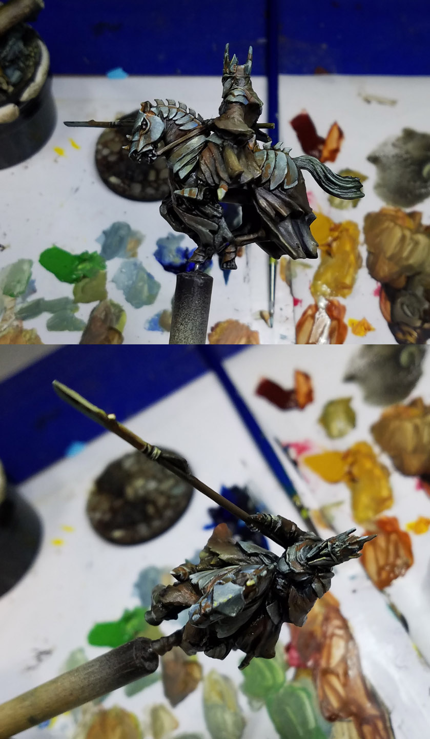 Painting miniatures color master primer - Now You Can Really See All Those Variations And That The Paint Continues The Become Less Shiny However These Newer Layers That I Have Been Adding Need To