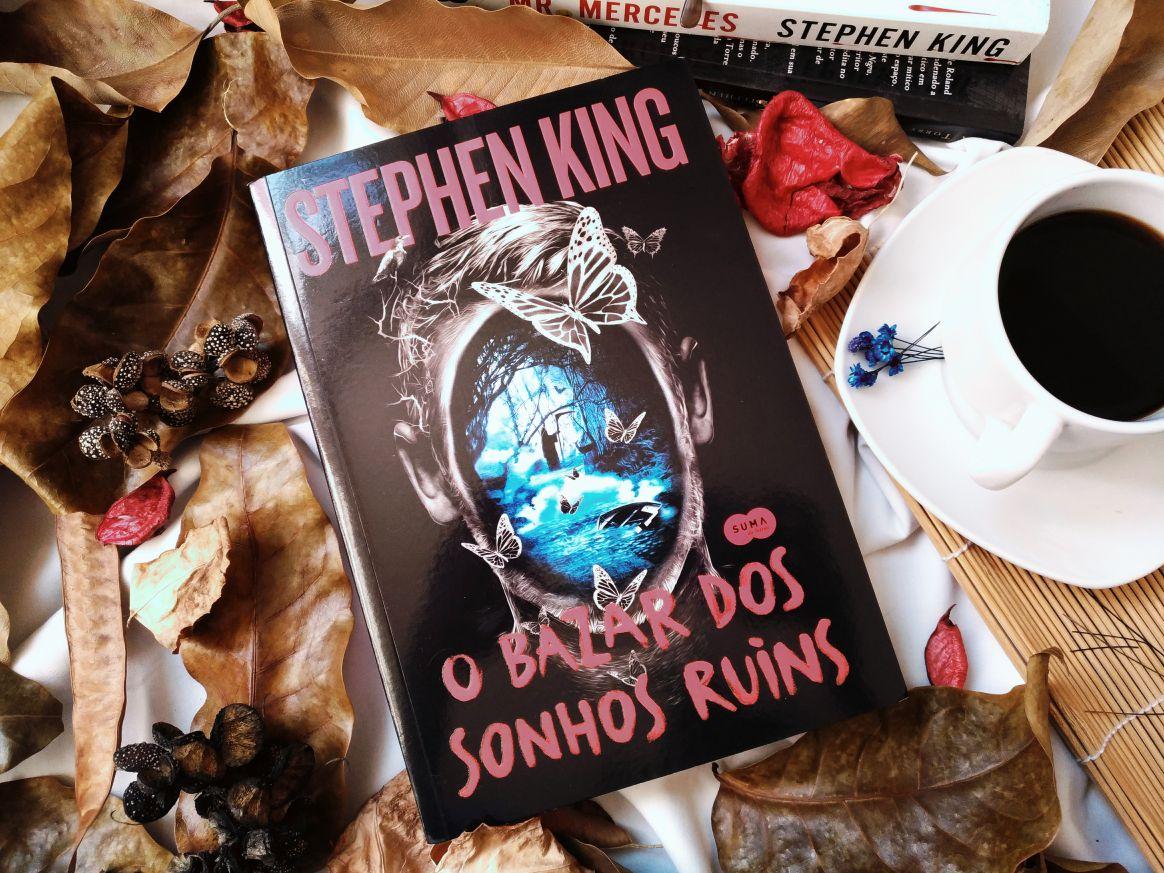 { #RESENHA } O BAZAR DOS SONHOS RUINS - STEPHEN KING