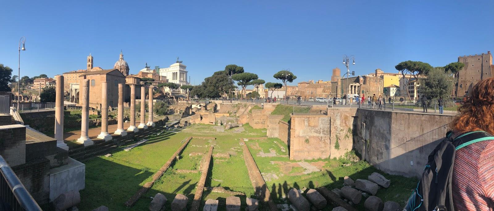 University of Arkansas Office of Study Abroad: Roman Forum