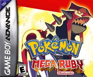 Pokemon Mega Ruby cover