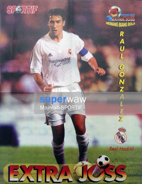 Poster Raul Gonzalez Real Madrid
