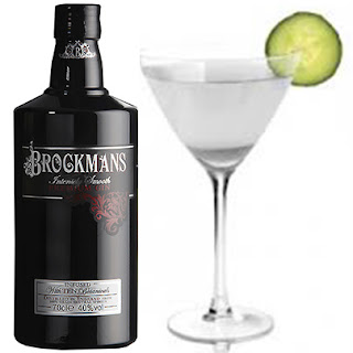 Cocktail con ginebra Brockmans : Saketini