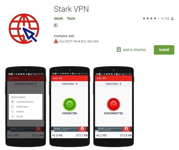 Cara Memakai Paket Chat Telkomsel Memanfaatkan Aplikasi Stark VPN 2019