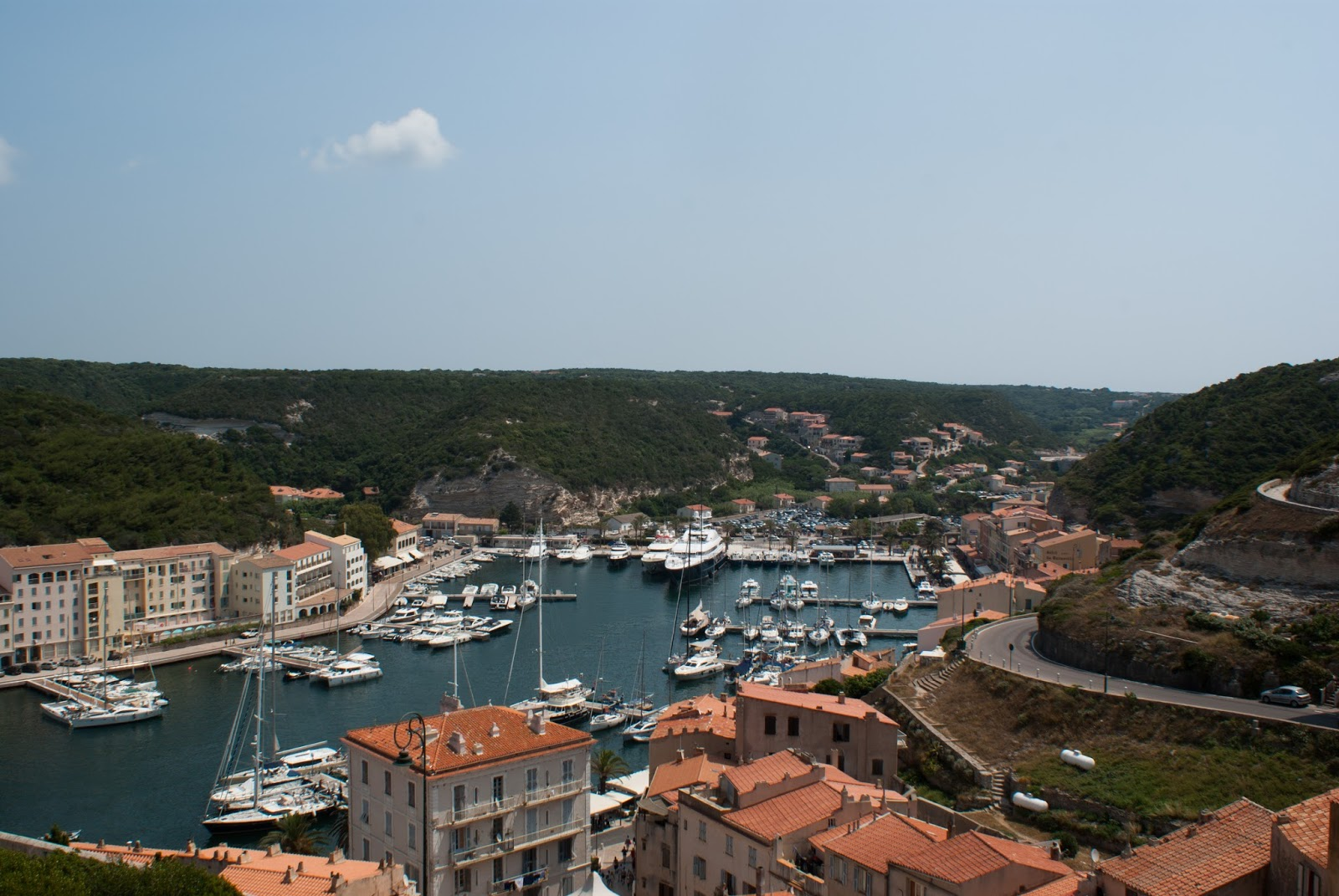bonifacio port corse corsica