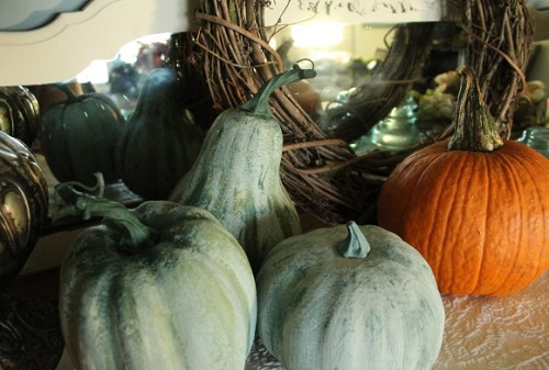 how to transform dollar store pumpkins