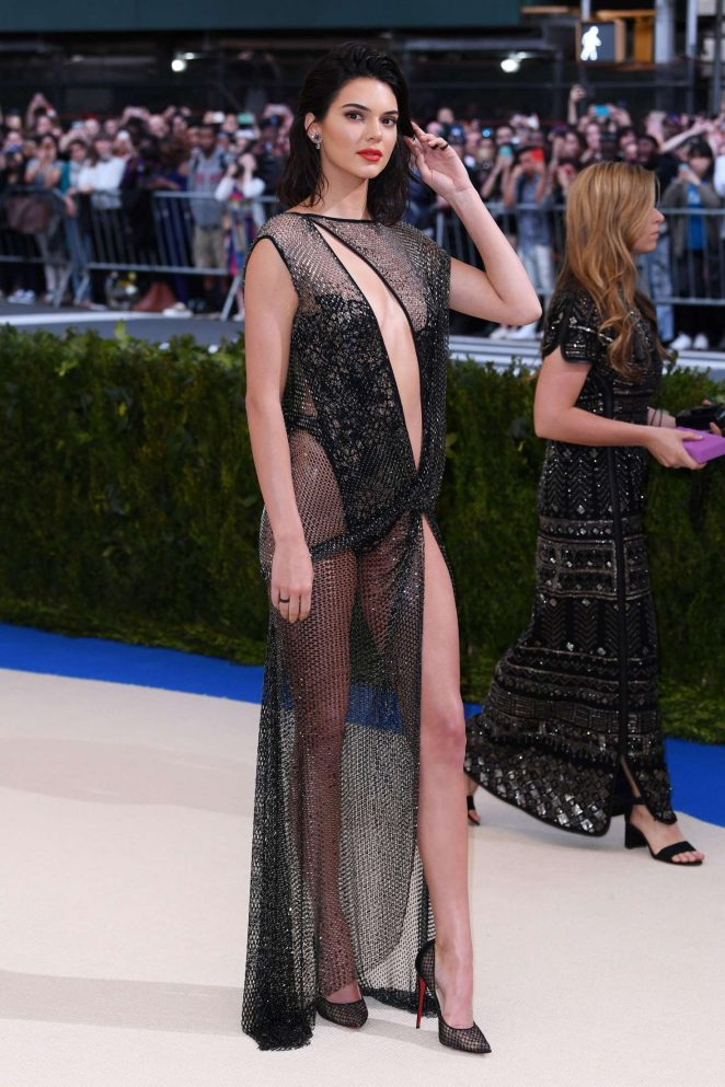 Kendall Jenner Nude Dress
