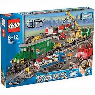 Kereta Api Indonesia: Kereta Api Mainan Dari Lego