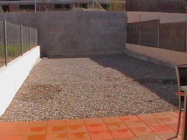 foto del jardín vacío