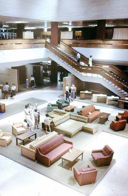 Внутри Дома мебели 1986 год