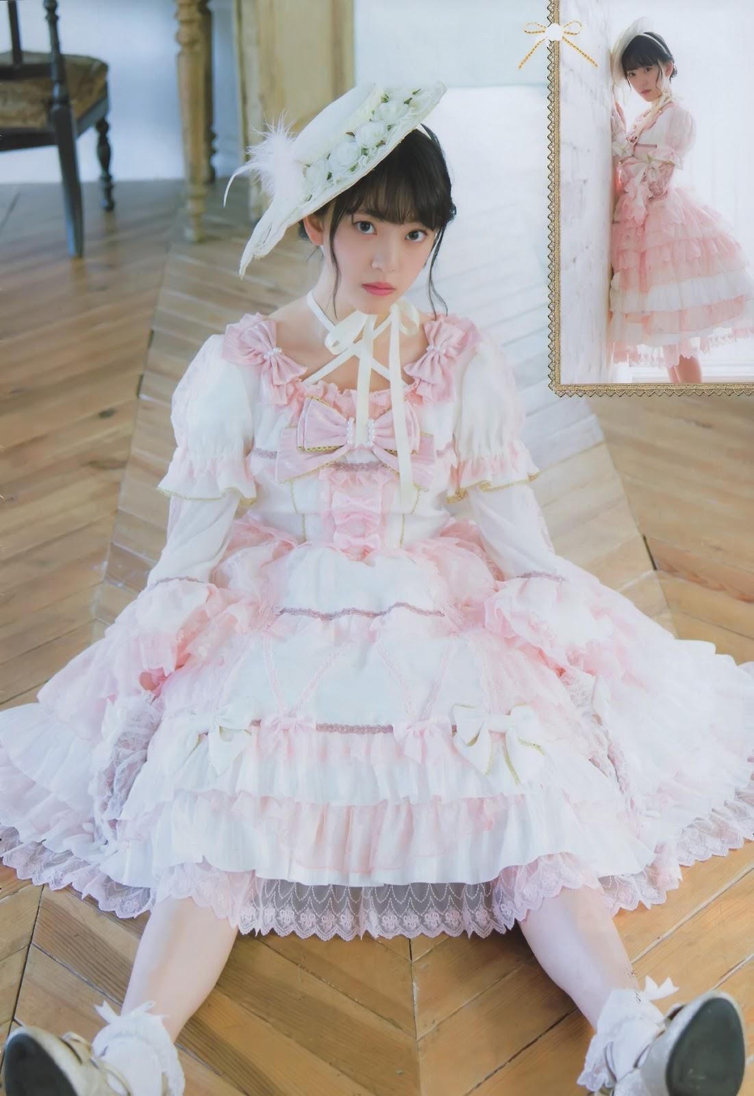 Hori Miona 堀未央奈 Nogizaka46, Shonen Champion 2017.04.06 No.17 (週刊少年チャンピオン 2017年17号)