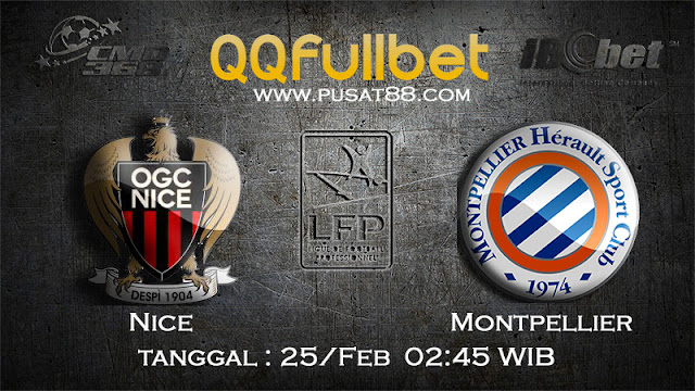 PREDIKSIBOLA - PREDIKSI TARUHAN NICE VS MONTPELLIER 25 FEBRUARY 2017 (FRANCE LIGUE 1)