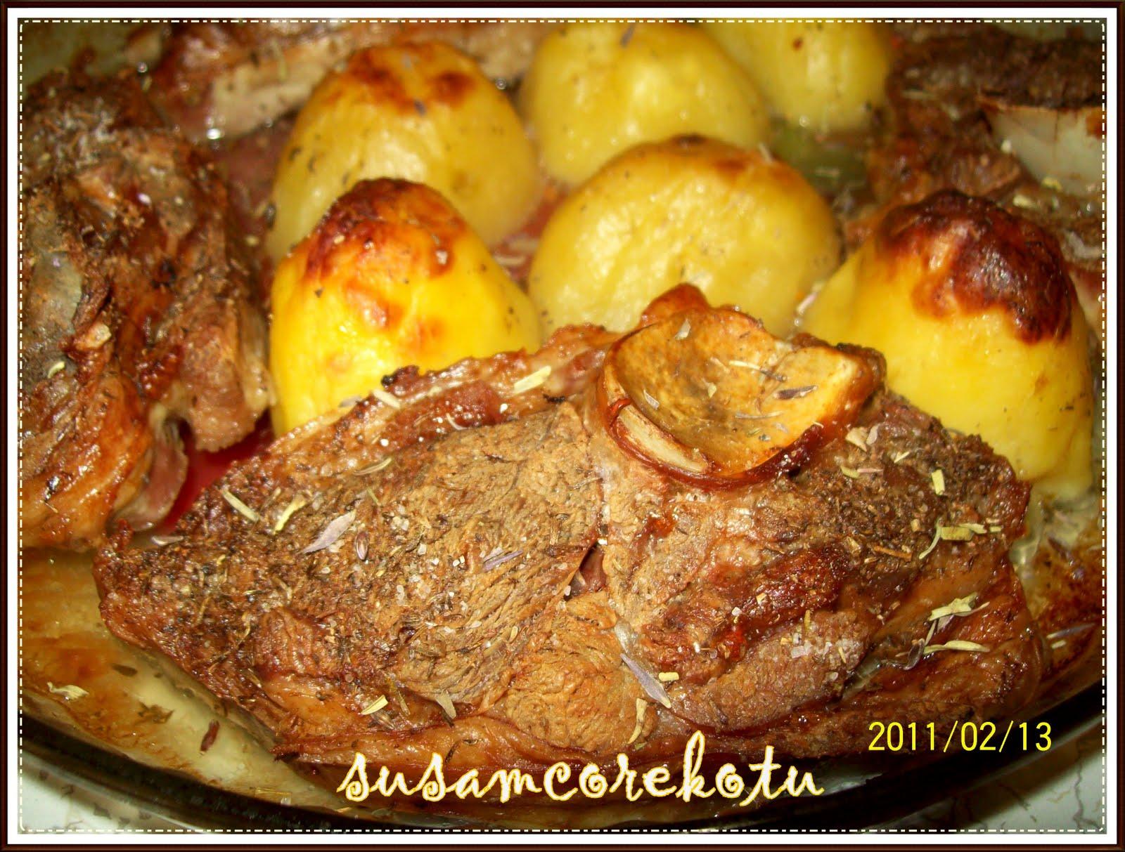 Fırında patates ile güveç nasıl pişirilir