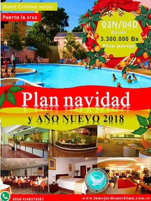 imagen navidad y año nuevo 2018 plan alojamiento puerto la cruz