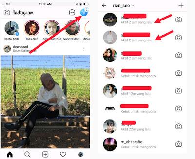 Cara Mengetahui Teman Instagram yang Sedang Aktif dan Tidak Aktif